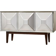 Duddleston 3 Door Mirrored Cabinet by Willa Arlo Interiors