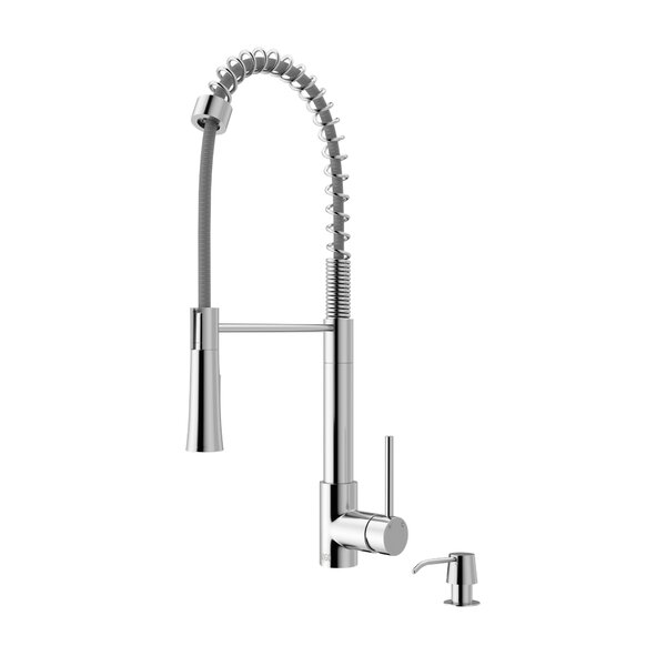 Laurelton Pull Down Single Handle Kitchen Faucet by VIGO