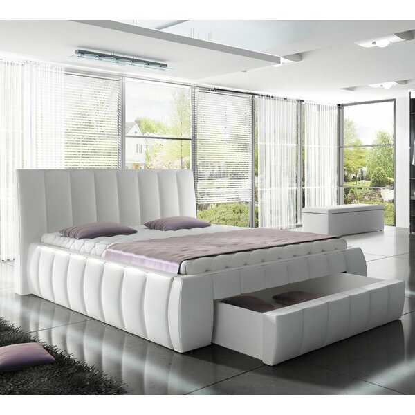Danvers Modern European Kingsize Upholstered Storage Platform Bed by Orren Ellis