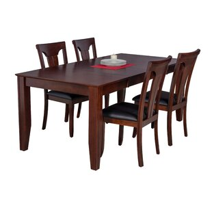 Avangeline 5 Piece Wood Dining Set By Gracie Oaks