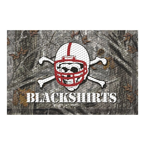 University of Nebraska - Blackshirts Doormat by FANMATS