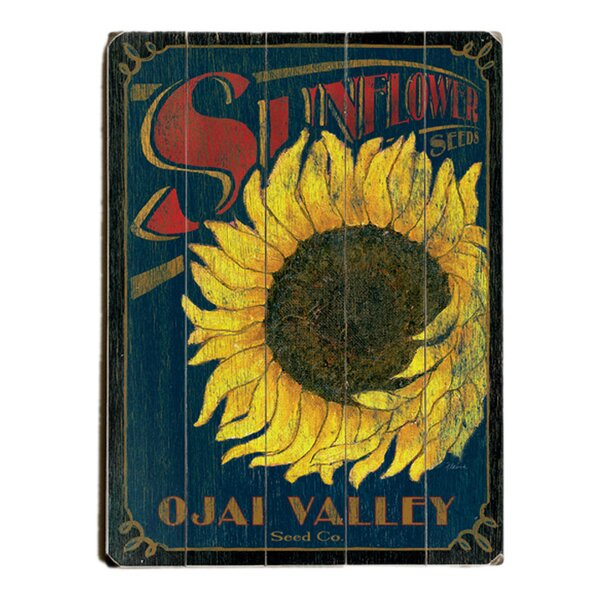 Sunflower Seeds Graphic Art Print Multi-Piece Image on Wood by Artehouse LLC