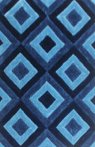 Guice Blue Area Rug by Ebern Designs