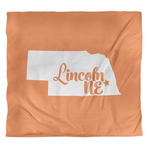Lincoln Nebraska Duvet Cover