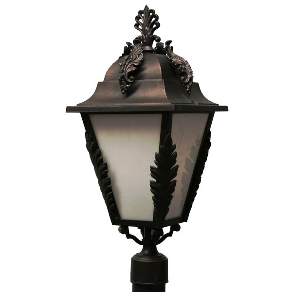 Petrey 3 Light 27 Post Lantern by Alcott Hill