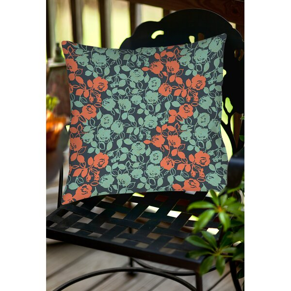 Anna Rose 5 Indoor/Outdoor Throw Pillow by Manual Woodworkers & Weavers