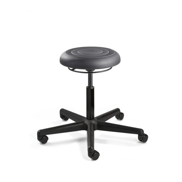 ErgoLux Height Adjustable Backless Stool by BEVCO