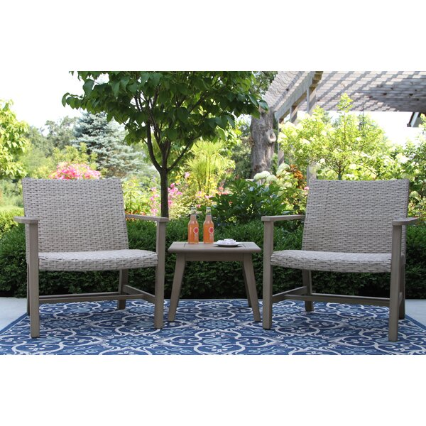 Rex 3 Piece Seating Group by Beachcrest Home