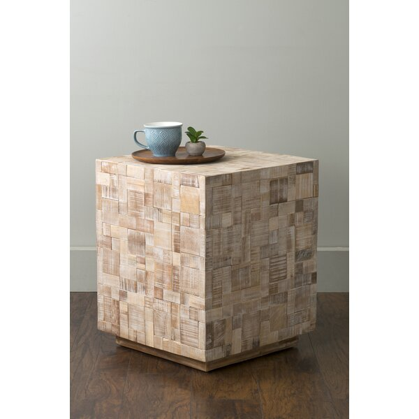 St. Lucie End Table by Rosecliff Heights