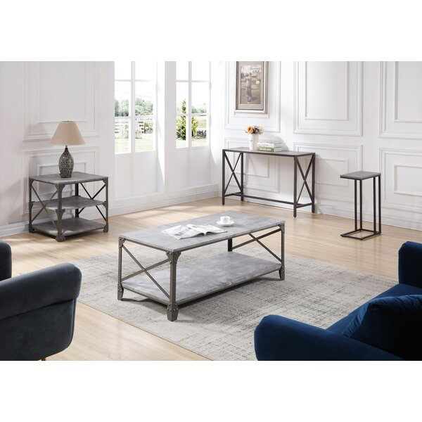 Skeen 4 Piece Coffee Table Set by Williston Forge