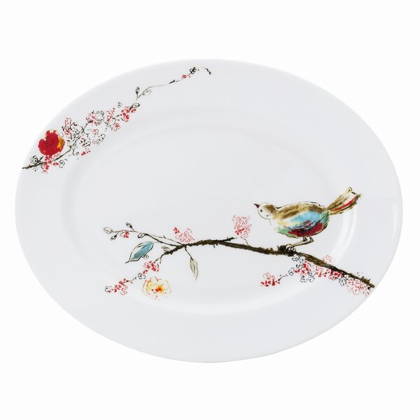 Chirp Oval Platter by Lenox