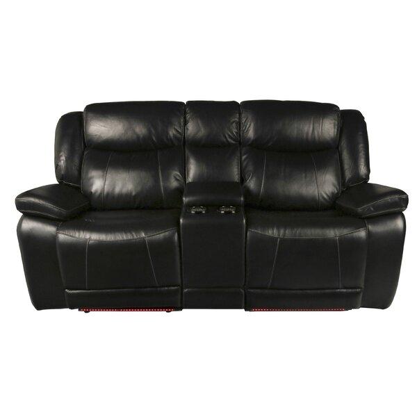 Burand Genuine Leather Reclining 78