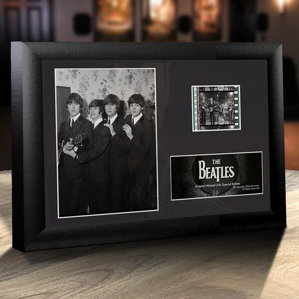 Beatles Framed FIlmCells Desktop Presentation by Trend Setters