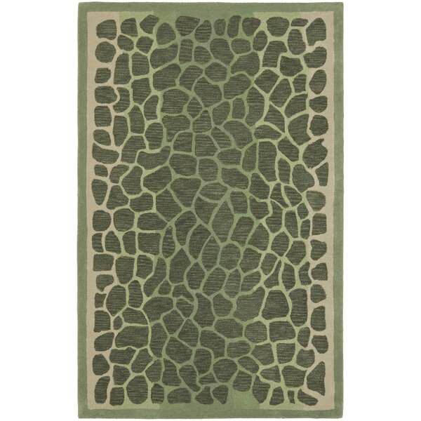 Arusha Hand-Tufted Grassland Green Area Rug by Martha Stewart Rugs