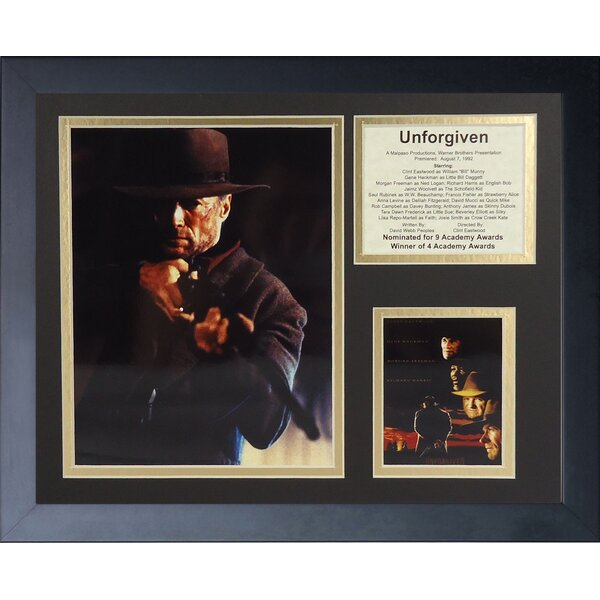 The Unforgiven Framed Photographic Print by Legends Never Die