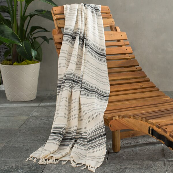 Zavier Hand Woven Turkish Cotton Bath Towel by Mistana