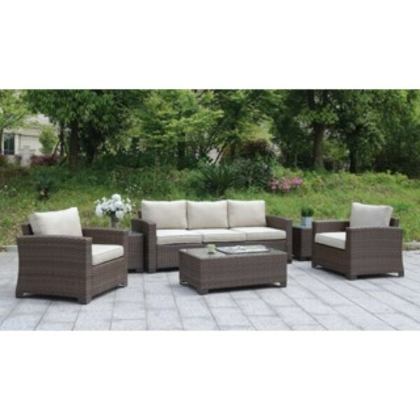 Sheard 6 Piece Sofa Seating Group with Cushions by Ivy Bronx