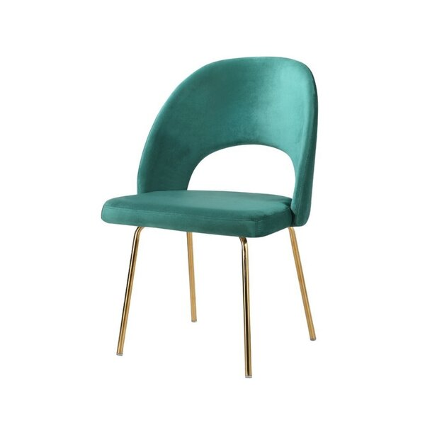 Riya Beauty Side Chair by Everly Quinn