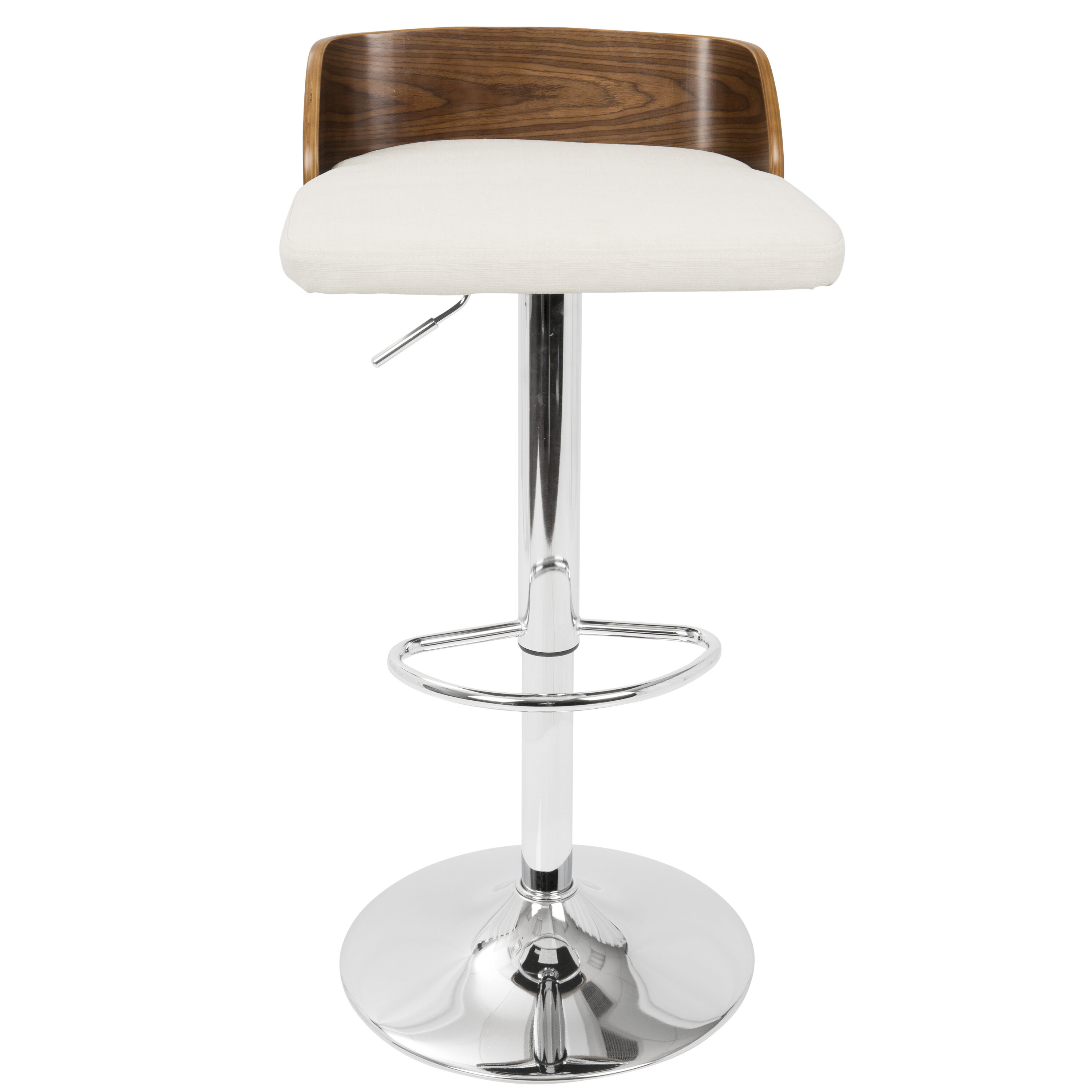Astounding Rockaway Adjustable Height Swivel Bar Stool Gmtry Best Dining Table And Chair Ideas Images Gmtryco