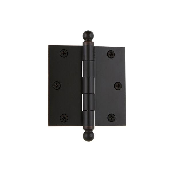 3.5 Ball Tip Residential Hinge with Square Corners