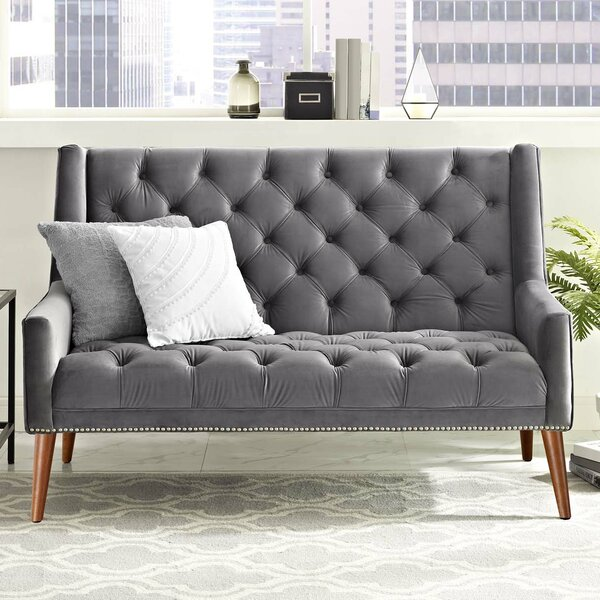 Shopping Web Mcwilliams Loveseat by House of Hampton by House of Hampton