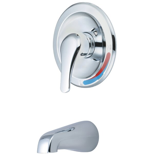 Single Handle Wall Mount Tub Trim Set by Olympia Faucets