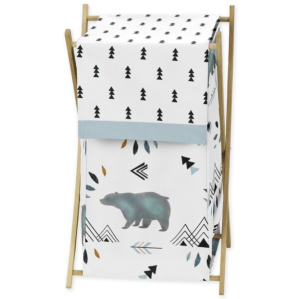 Bear Mountain Laundry Hamper by Sweet Jojo Designs