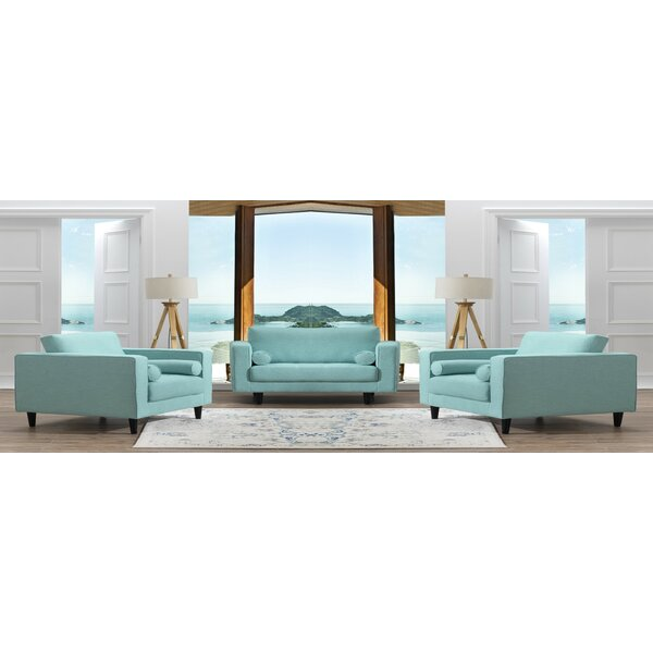 Harworth 3 Piece Living Room Set by Corrigan Studio