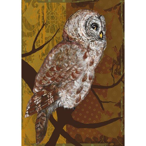 Night Owl 2-Sided Garden flag by Toland Home Garden
