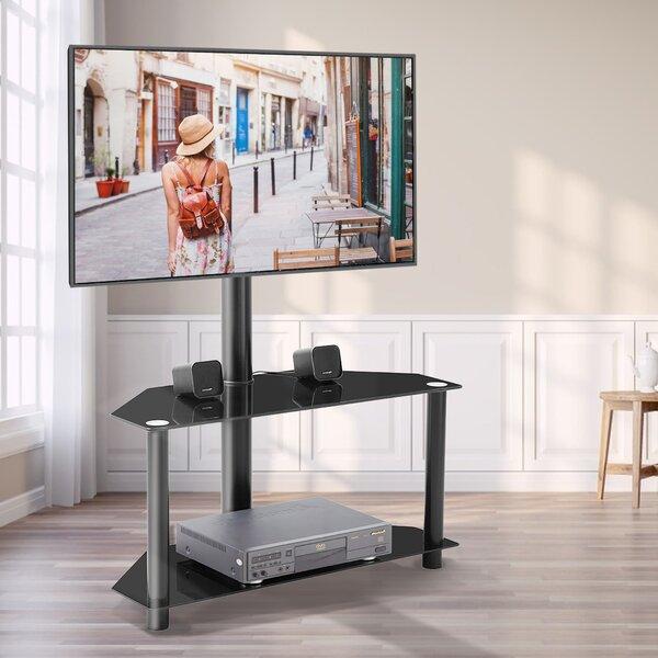 Verutiao Corner TV Stand For TVs Up To 55