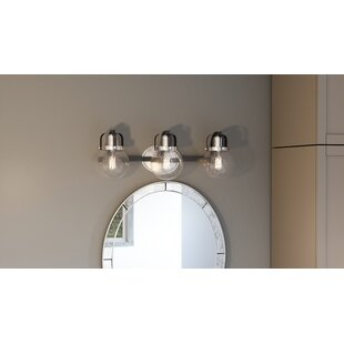 Best Choices Dickert 3-Light Vanity Light By Breakwater Bay
