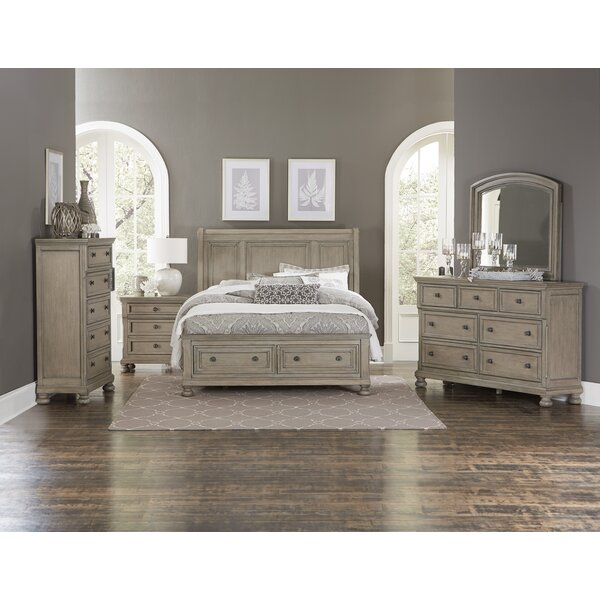 Carleton Sleigh 3 Piece Bedroom Set by Canora Grey