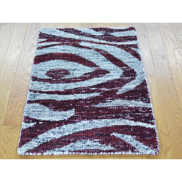 One-of-a-Kind Beatrix Handwoven Silk Area Rug by Isabelline