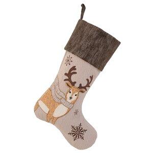 Cozy Reindeer Stocking