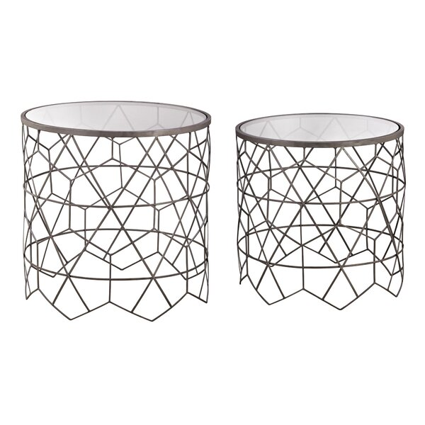 Noma 2 Piece End Table Set by Brayden Studio