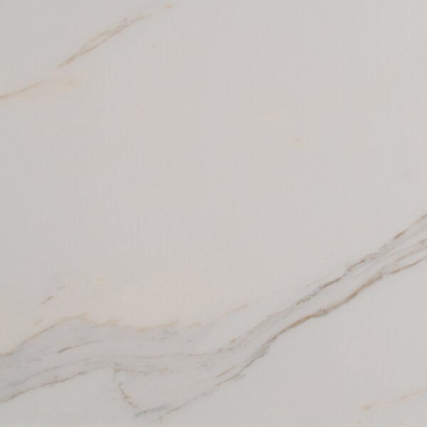 Adella Calacatta 18 x 18 Porcelain Field Tile in White by MSI