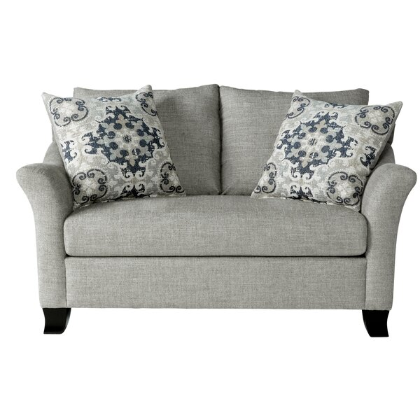 Valuable Today Alvah Loveseat by Charlton Home by Charlton Home