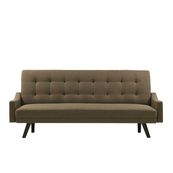 Cottrill Click Clack Futon Sofa Bed by Wrought Studio