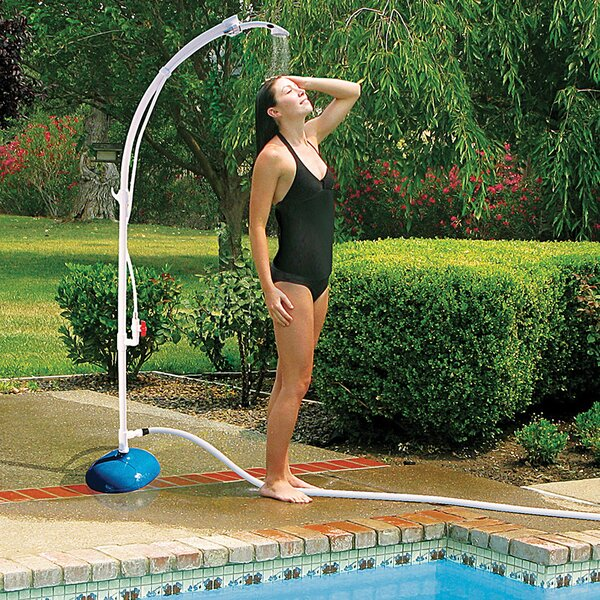 Poolside Freestanding Outdoor Shower by Poolmaster