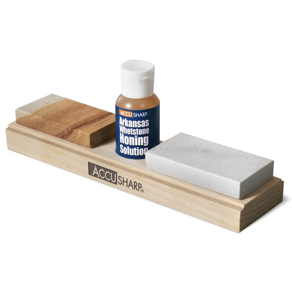 AccuSharp Arkansas Whetstone Sharpening Stone by Fortune Products