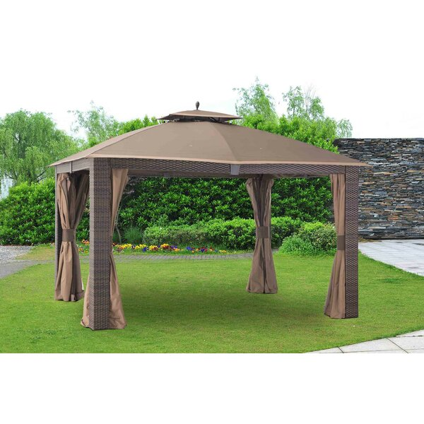 Replacement Canopy (Deluxe) for Sonoma Resin Wicker Gazebo by Sunjoy