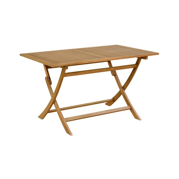 Causey Folding Dining Table by Bay Isle Home