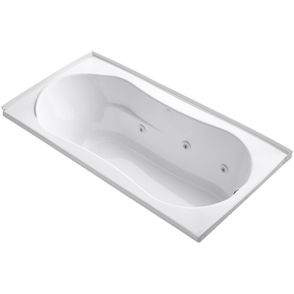Alcove 72 x 36 Whirpool Bathtub by Kohler