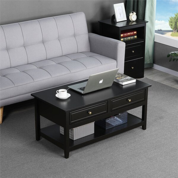 Babig Coffee Table With Storage By Winston Porter