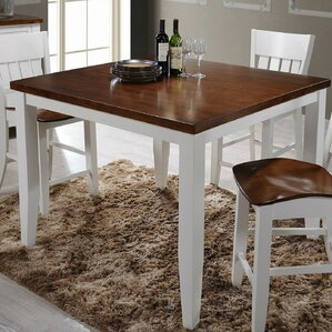 Chauncey Gathering Pub Table by Red Barrel Studio