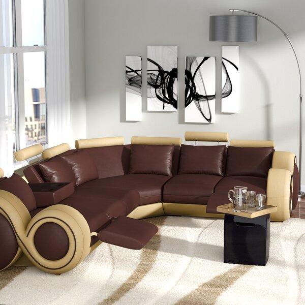 orren ellis faviola reclining sectional orel2390