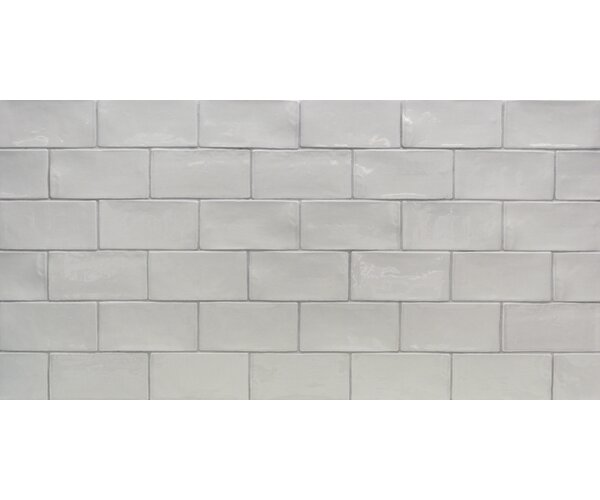 Catalina 3 x 6 Porcelain Subway Tile in Gris by Splashback Tile