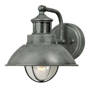 Compare prices Archibald Dualux® 1-Light Outdoor Barn Light By Beachcrest Home