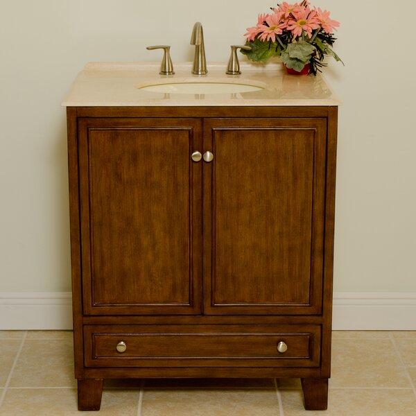 Sassy 30 Single Bathroom Vanity Set by B&I Direct Imports