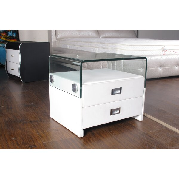 Shmuel 2 Drawer Nightstand by Orren Ellis